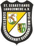 St. Sebastianus Schützenbruderschaft Langerwehe Logo